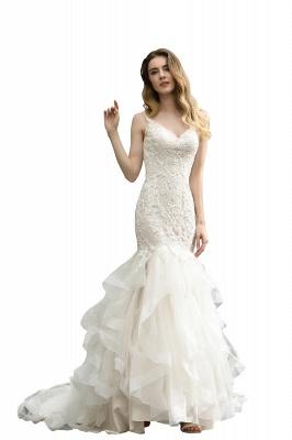 Brautkleider Meerjungfreu   Hochzeitskleid mit Spitze_3