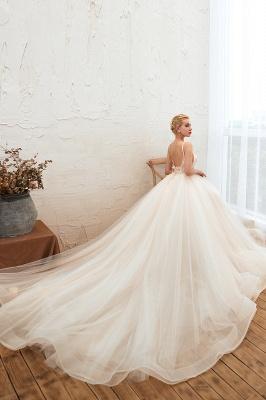 Elegante Hochzeitskleid A Linie   Standesamt Brautkleid_8