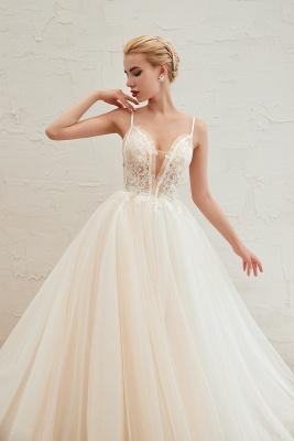 Elegante Hochzeitskleid A Linie   Standesamt Brautkleid_12