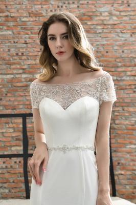 Designer Brautkleid mit Ärmel   Hochzeitskleider Meerjungfrau_8