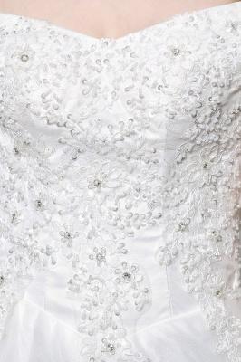 Schlichte Brautkleid A Linie   hochzeitskleider standesamt_11