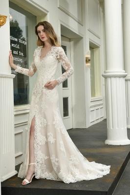 Elegante Brautkleid Meerjungfrau | Hochzeitskleider Mit Ärmel_7