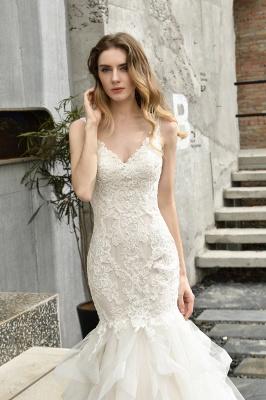 Brautkleider Meerjungfreu   Hochzeitskleid mit Spitze_6