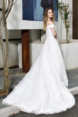 Schlichte Brautkleid A Linie   hochzeitskleider standesamt_2