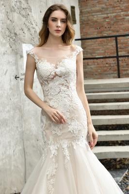 Elegante Hochzeitskleider Standesamt | Brautkleid Meerjungfrau_6
