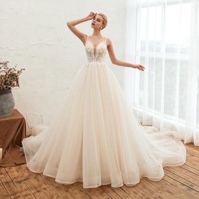 Elegante Hochzeitskleid A Linie   Standesamt Brautkleid_13