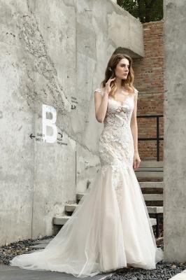 Elegante Hochzeitskleider Standesamt | Brautkleid Meerjungfrau_8