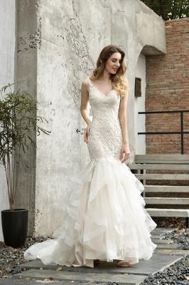 Hochzeitskleid Meerjungfrau Spitze   Brautkleider Günstig Online_7