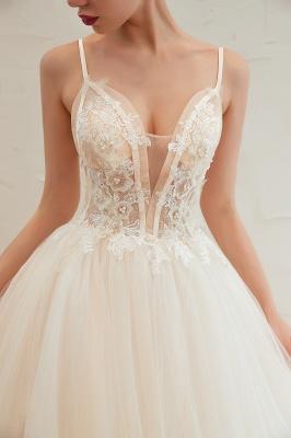 Elegante Hochzeitskleid A Linie   Standesamt Brautkleid_17