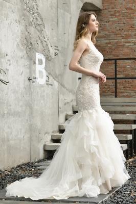 Brautkleider Meerjungfreu   Hochzeitskleid mit Spitze_10