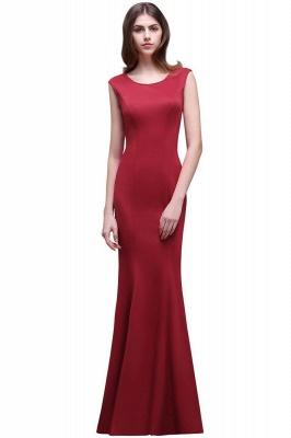 Elegante Abendkleider Lang Rot   Abiballkleider Günstig_1