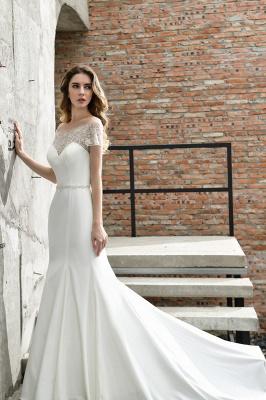Designer Brautkleid mit Ärmel   Hochzeitskleider Meerjungfrau_3