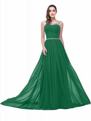 Mint Grün Abendkleider Günstig | Chiffon Kleider Abiballkleider_6