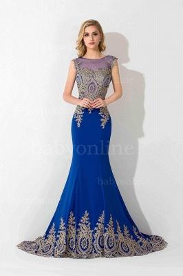 Abendkleider Lang Blau | Abiballkleider Mit Günstig_4