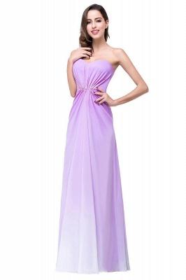 Lavender Abendkleider Lang Günstig   Schlichtes Abiballkleid_1