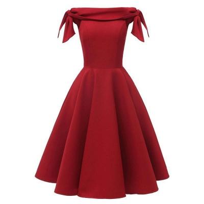 Rote Abendkleider Kurz   Cocktailkleider Unter 50_2