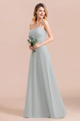 Elegante Brautjungfernkleider Lang Günstig | Hochzeitspartykleider Chiffon_10