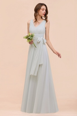 Brautjungfernkleider Lang Chiffon | Kleider für Brautjungfern_7