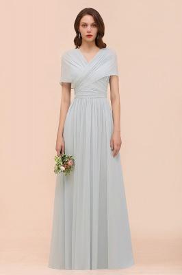 Brautjungfernkleider Lang Chiffon | Kleider für Brautjungfern_1