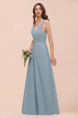 Brautjungfernkleider Heller Blau | Chiffon Kleider Für Brautjungfern_6
