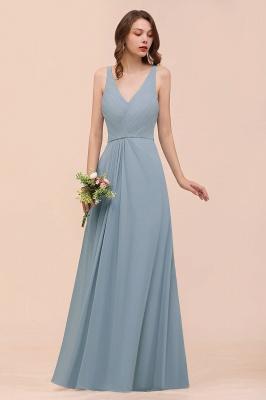 Brautjungfernkleider Heller Blau | Chiffon Kleider Für Brautjungfern_8