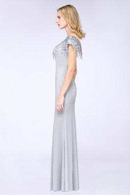 Silber Abendkleider Lang Günstig | Abiballkleider Online Kaufen_10