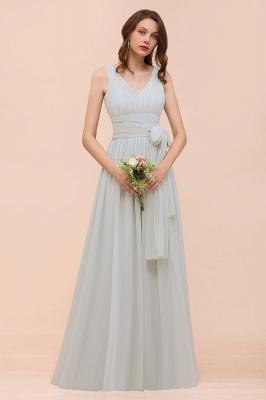 Brautjungfernkleider Lang Chiffon | Kleider für Brautjungfern_4