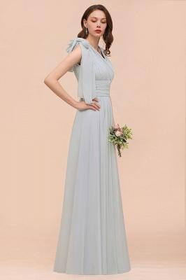 Brautjungfernkleider Lang Chiffon | Kleider für Brautjungfern_6
