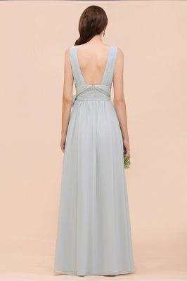 Brautjungfernkleider Lang Chiffon | Kleider für Brautjungfern_10