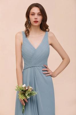 Brautjungfernkleider Heller Blau | Chiffon Kleider Für Brautjungfern_4