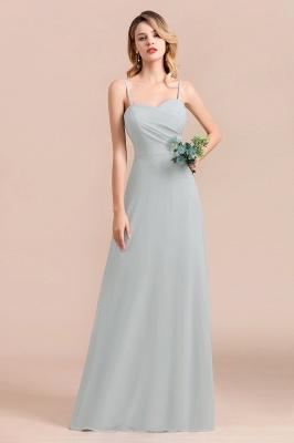 Elegante Brautjungfernkleider Lang Günstig | Hochzeitspartykleider Chiffon_9