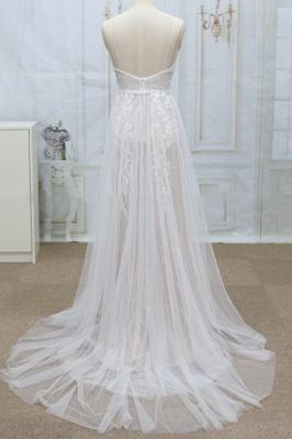 Designer Hochzeitskleider A Linie | Brautkleider mit Spitze_3