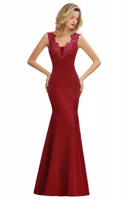 Abendkleider Lang v Ausschnitt | Abiballkleider Rosa Günstig_2