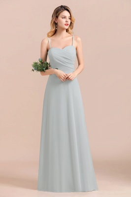 Elegante Brautjungfernkleider Lang Günstig | Hochzeitspartykleider Chiffon_5