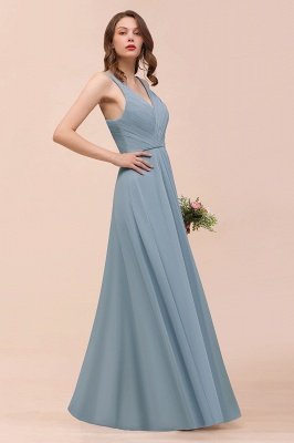 Brautjungfernkleider Heller Blau | Chiffon Kleider Für Brautjungfern_7