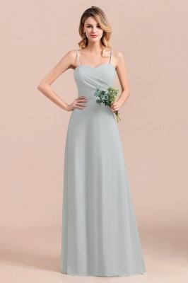 Elegante Brautjungfernkleider Lang Günstig | Hochzeitspartykleider Chiffon_6
