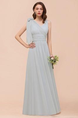 Brautjungfernkleider Lang Chiffon | Kleider für Brautjungfern_8
