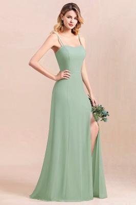 Brautjungfernkleider Mint | Chiffon Kleider Abendkleider Online_5