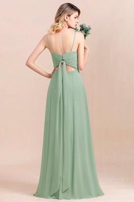 Brautjungfernkleider Mint | Chiffon Kleider Abendkleider Online_3