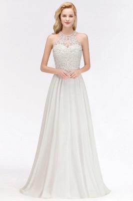 Brautjungfernkleid Weiß   Kleider Brautjungfer Günstig_13