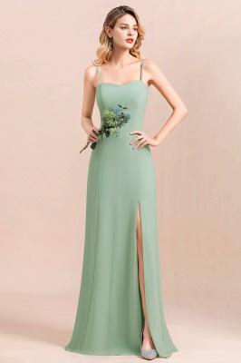Brautjungfernkleider Mint | Chiffon Kleider Abendkleider Online_8