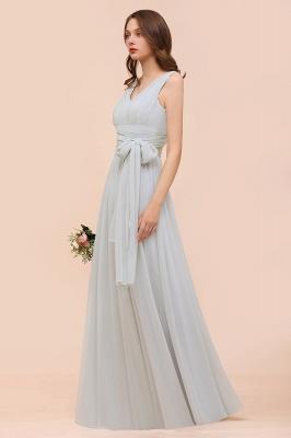 Brautjungfernkleider Lang Chiffon | Kleider für Brautjungfern_5