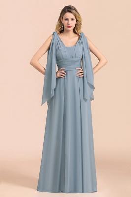 Sheer Brautjungfernkleider Lang Blau | Kleider Hochzeitsparty_7