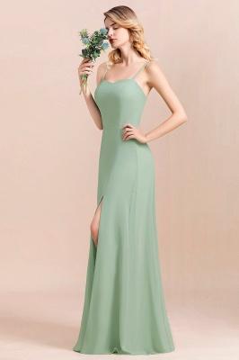 Brautjungfernkleider Mint | Chiffon Kleider Abendkleider Online_4