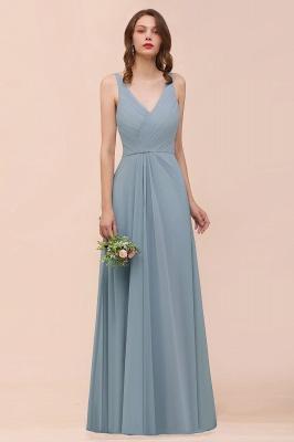 Brautjungfernkleider Heller Blau | Chiffon Kleider Für Brautjungfern_1