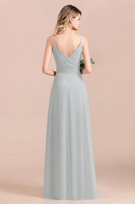 Elegante Brautjungfernkleider Lang Günstig | Hochzeitspartykleider Chiffon_4
