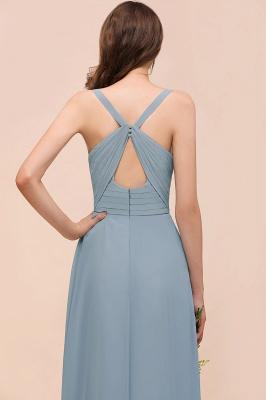 Brautjungfernkleider Heller Blau | Chiffon Kleider Für Brautjungfern_5