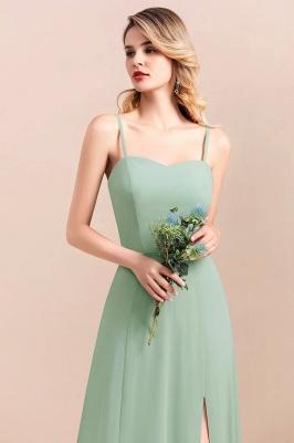 Brautjungfernkleider Mint | Chiffon Kleider Abendkleider Online_9