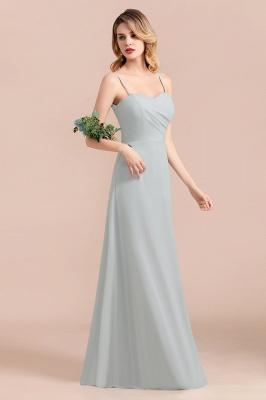 Elegante Brautjungfernkleider Lang Günstig | Hochzeitspartykleider Chiffon_7