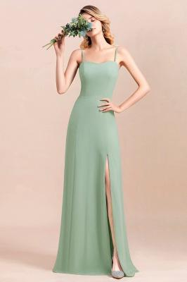 Brautjungfernkleider Mint | Chiffon Kleider Abendkleider Online_6